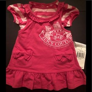 NWT Baby Juicy Couture jumper set